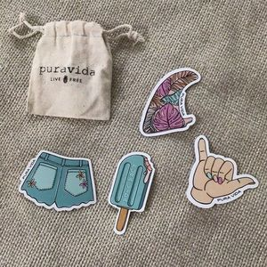 pura vida sticker pack